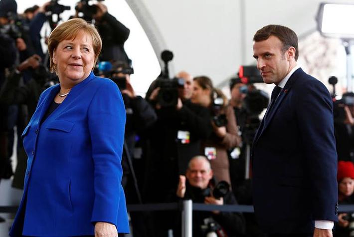 Макрон и Меркель «потеряли» Путина на берлинском саммите 1
