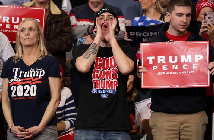 Больше половины американцев верят в переизбрание Трампа 1