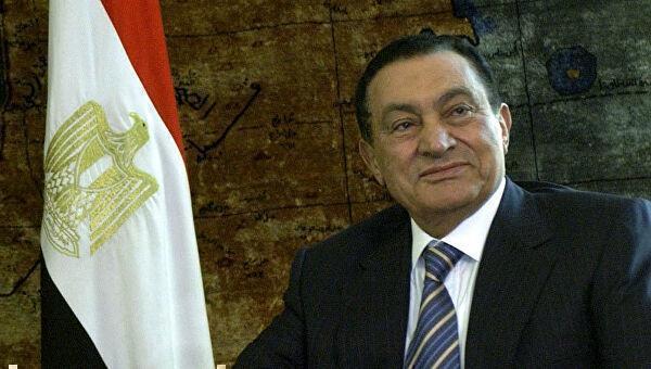 Умер бывший президент Египта Хосни Мубарак 1