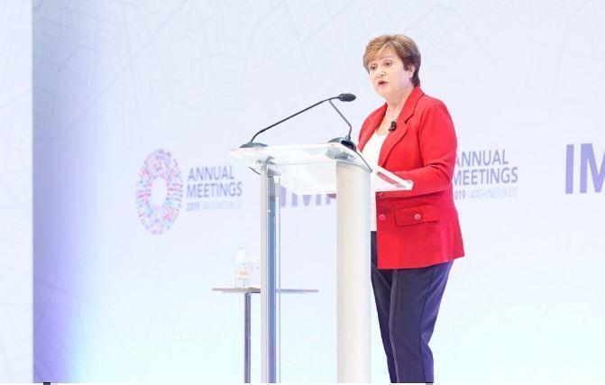 Глава МВФ спрогнозировала рецессию в мировой экономике из-за коронавируса 1