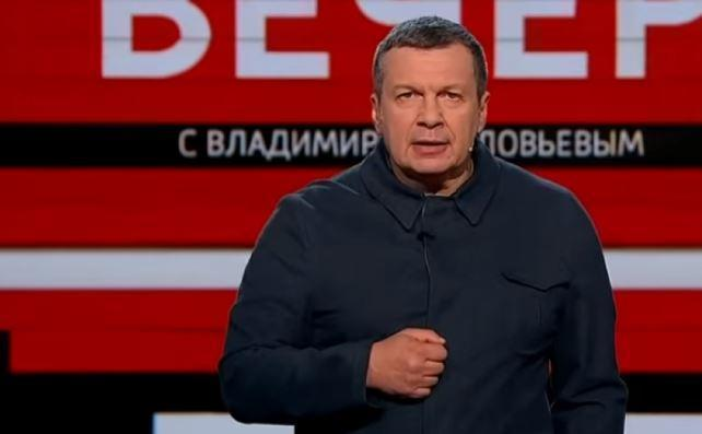 Соловьев резко осадил украинского журналиста за выпады в адрес Пескова thumbnail