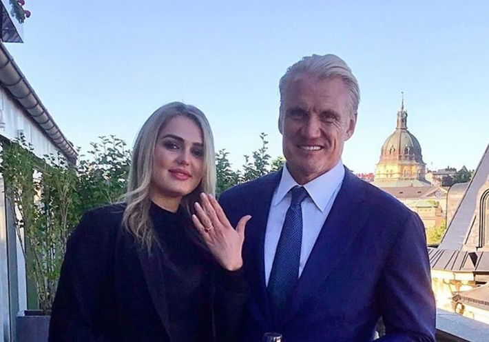 62-летний актер Дольф Лундгрен сделал предложение 24-летней возлюбленной 1