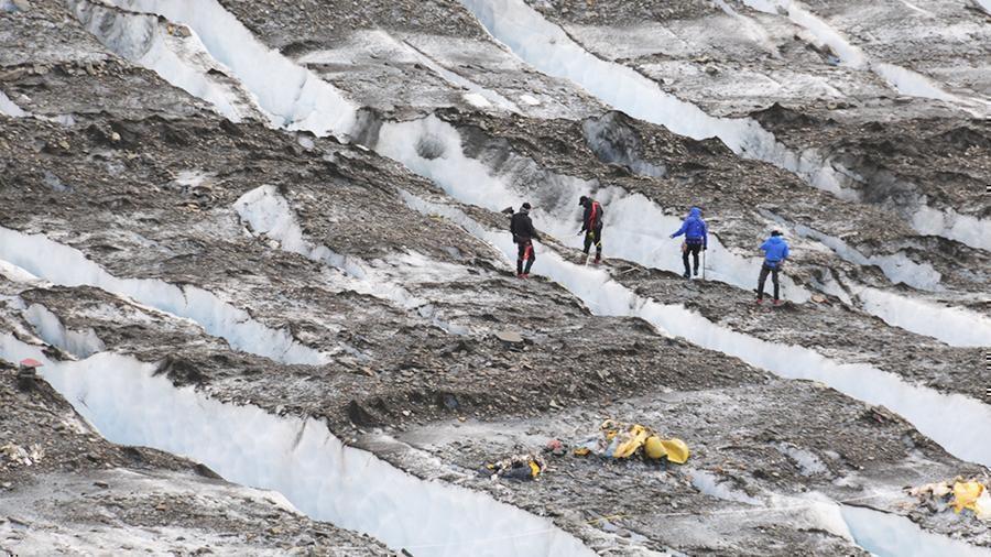 На Аляске нашли останки жертв авиакатастрофы 1952 года