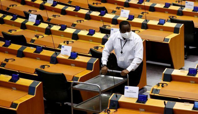 Handelsblatt: серия краж в Европарламенте расколола Брюссель 1