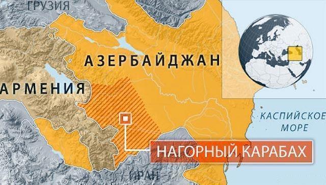 В Баку сообщили об уничтожении военного объекта ВС Армении на границе 1