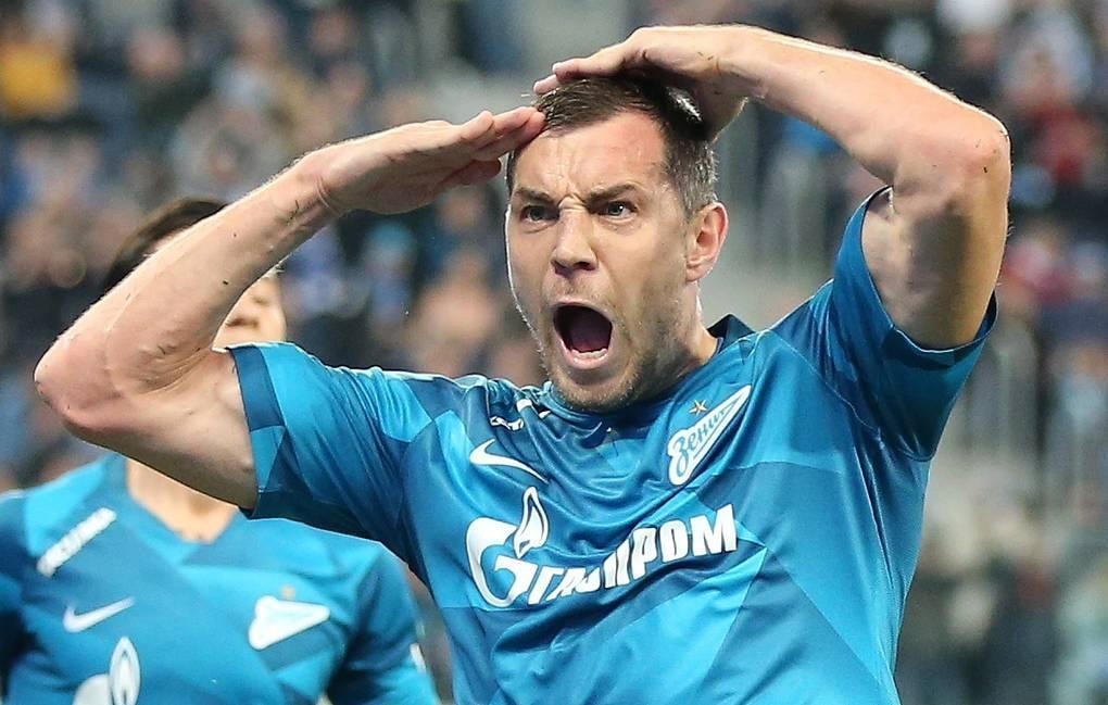 Дзюба признан лучшим футболистом чемпионата России 1