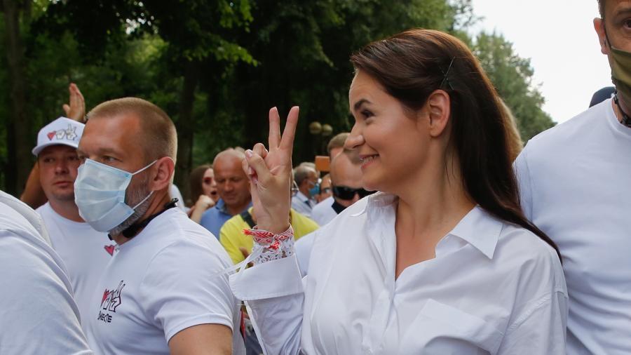 Светлана Тихановская отменила предвыборный митинг в Минске 1