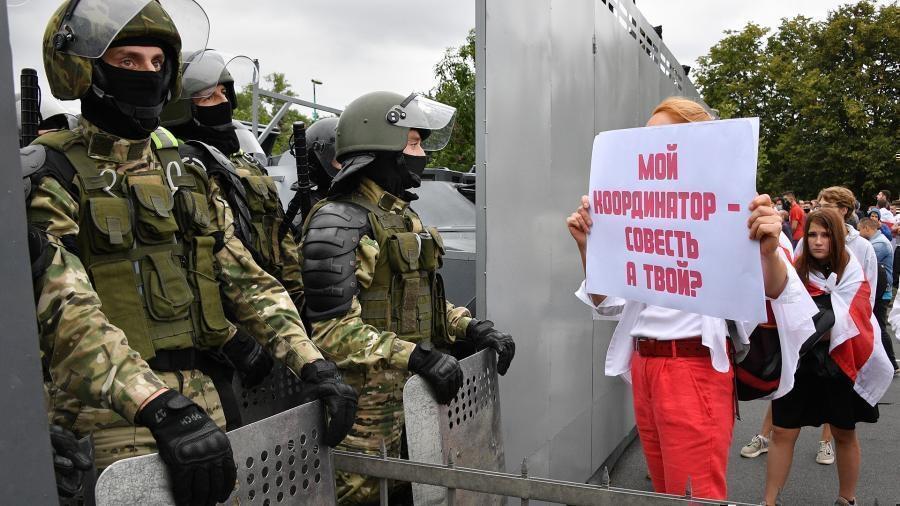 В Белоруссии задержаны сотни протестующих 1