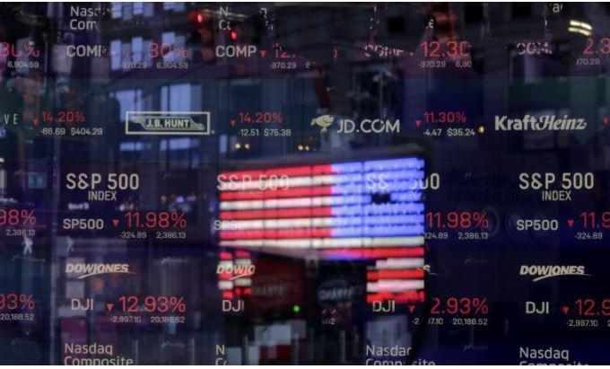 Американские биржи продолжают падение 1