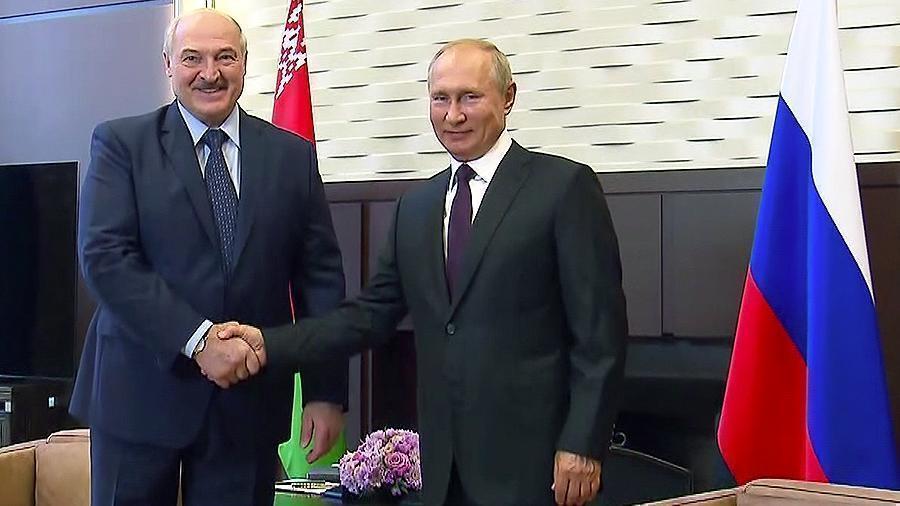 Песков рассказал о темах переговоров Путина и Лукашенко 1