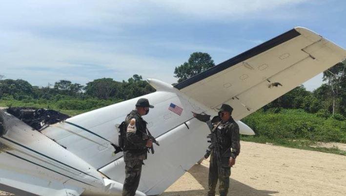 Венесуэльские военные сбили американский самолет 2