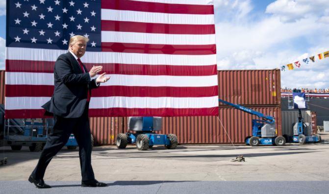 Трамп пообещал покончить с зависимостью экономики США от Китая 1