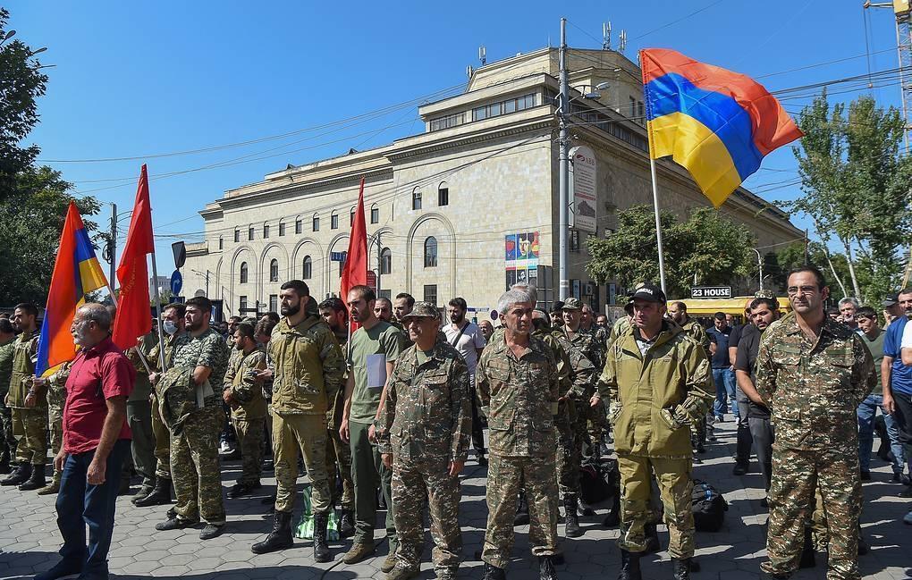 Обострение военного конфликта между Арменией и Азербайджаном 1