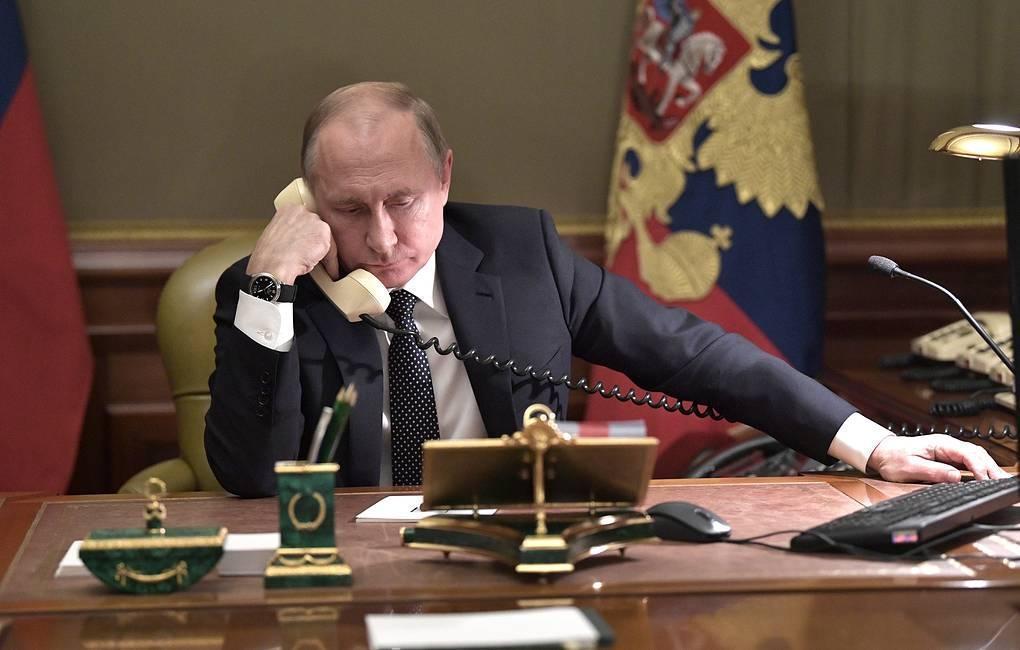 Путин и Пашинян выразили озабоченность в связи с сообщениями о боевиках в Карабахе 1