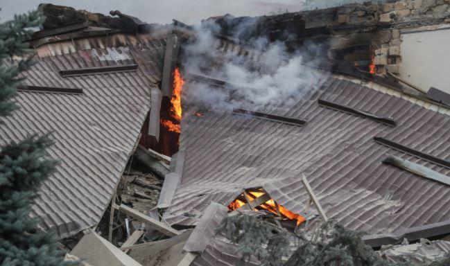 Вице-премьер Армении сообщил о новом ракетном ударе по Степанакерту 1
