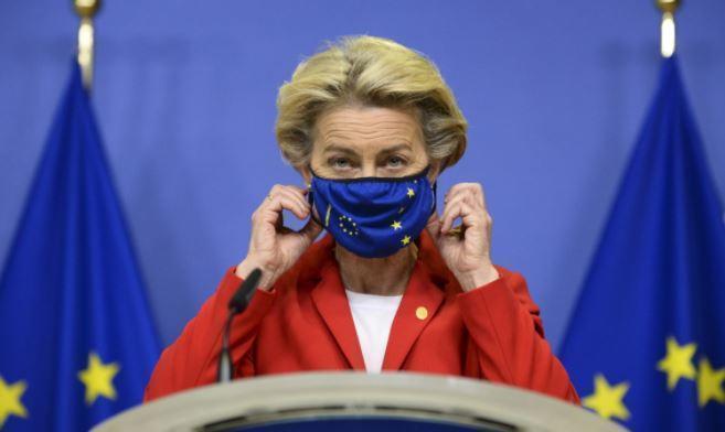 Глава Еврокомиссии ушла на самоизоляцию 1