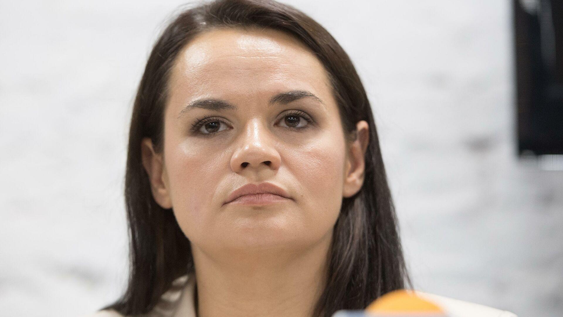 Тихановская заявила, что белорусская оппозиция не контролируется из Европы и России 1