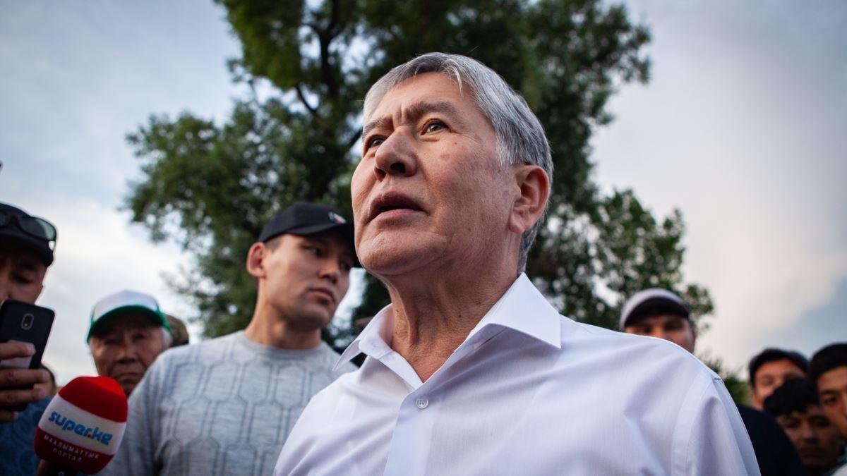 На экс-президента Киргизии совершено покушение 1