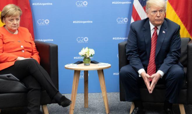Трамп рассказал, как Меркель ответила ему на критику по СП-2 1