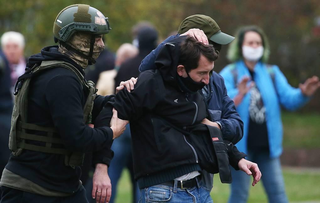 Белорусские правозащитники сообщают о более чем 100 задержанных в ходе акций оппозиции 1