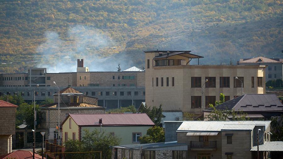 Несколько взрывов прогремели в Степанакерте 1