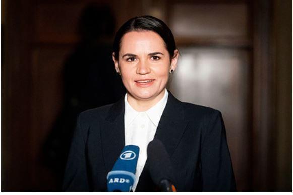 Тихановская назвала тему возможных переговоров с Путиным 1