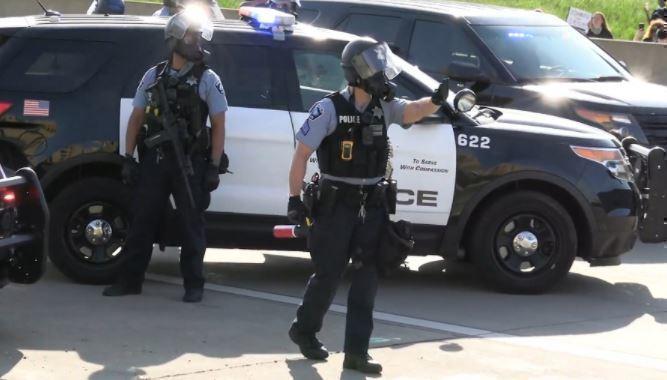 Полиция Нью-Йорка готовится к «майдану» после выборов президента США 1