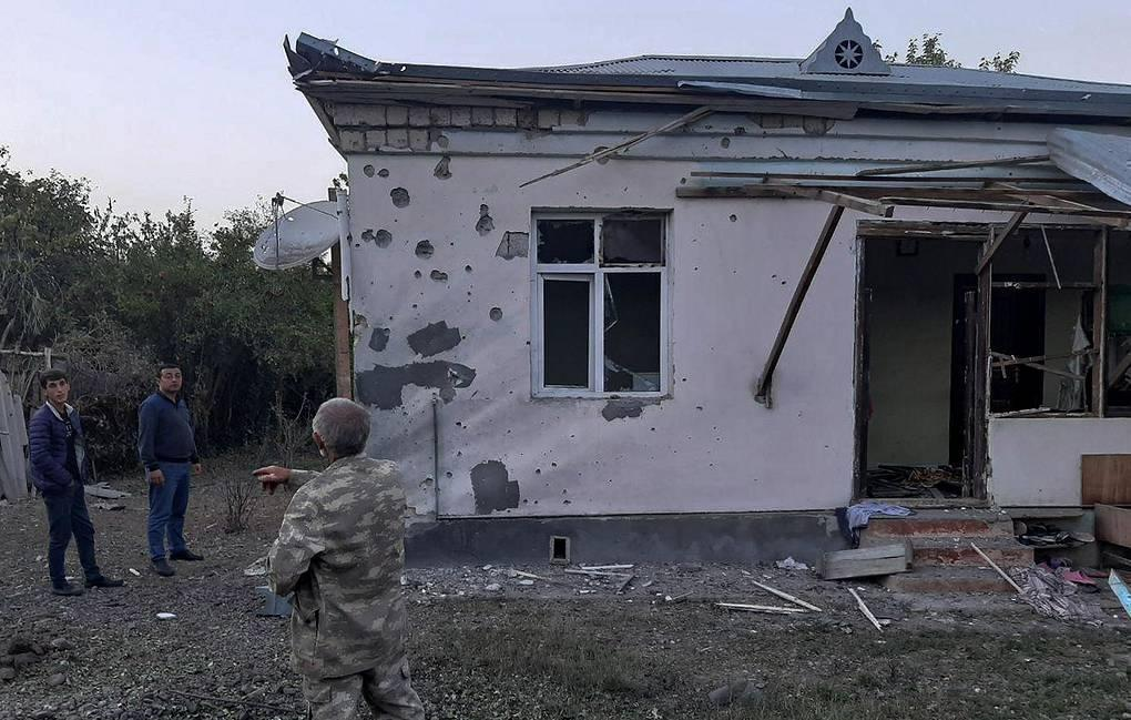 В Ереване обвинили Азербайджан в обстреле населенного пункта в Карабахе 1