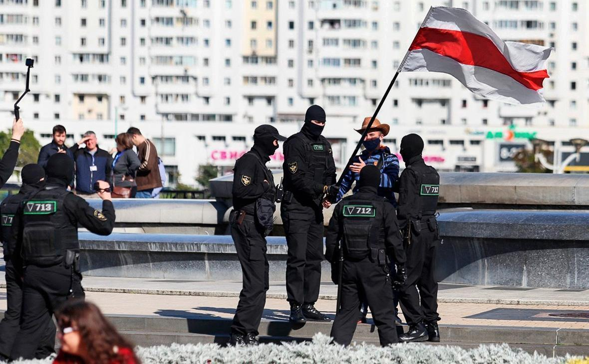 В Минске продолжаются протесты оппозиции 1