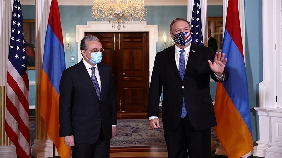 В МИД Армении назвали продуктивными переговоры в Вашингтоне по Карабаху 1