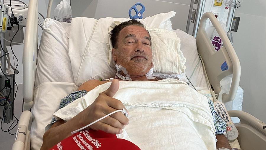 Арнольд Шварценеггер показал фото после операции на сердце 1