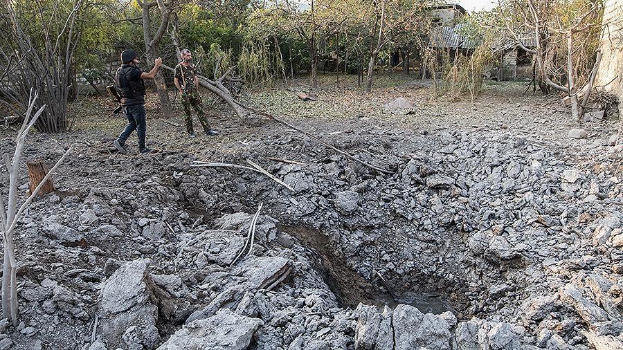Ереван обвинил Баку в авиаударах по Мартакерту в НКР 1