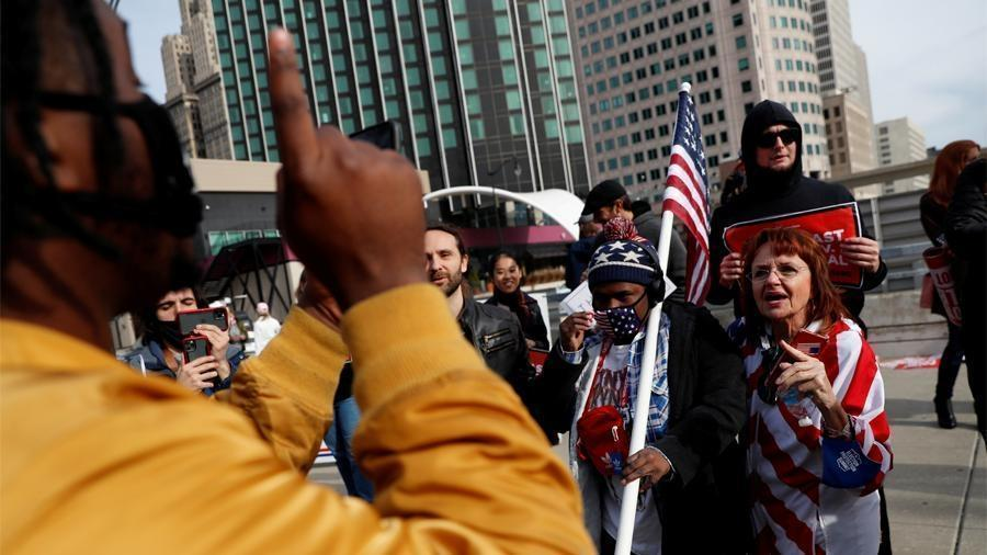 Политолог оценил вероятность раскола в США после президентских выборов 1