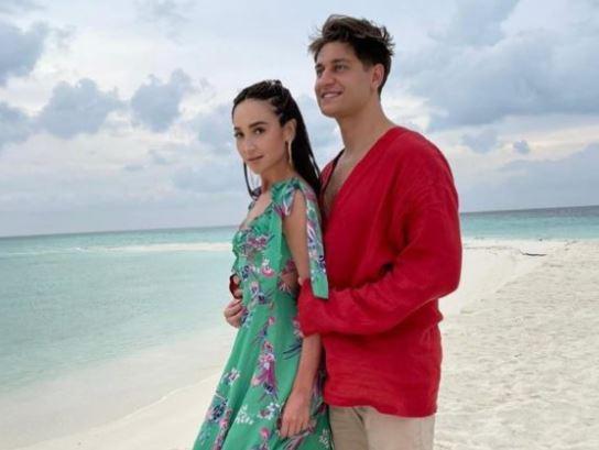 Ольга Бузова и Дава поженились на Мальдивах