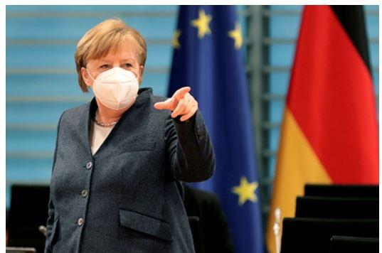 Меркель увидела «свет в конце тоннеля» в ситуации с коронавирусом 1