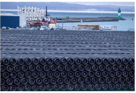 Назван срок завершения строительства «Северного потока-2» в Дании 1