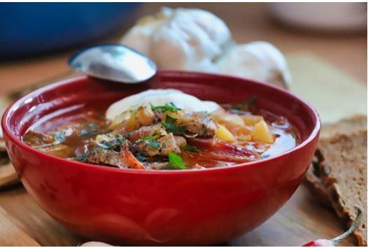 Борщ включили в рейтинг лучших супов мира