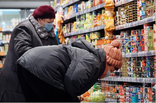 Россия почти в восемь раз обогнала Европу по росту цен на продукты