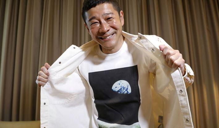 CNN: японский миллиардер объявил о наборе желающих для полёта к Луне в 2023 году