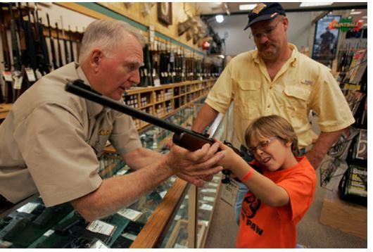В США захотели запретить огнестрельное оружие 1