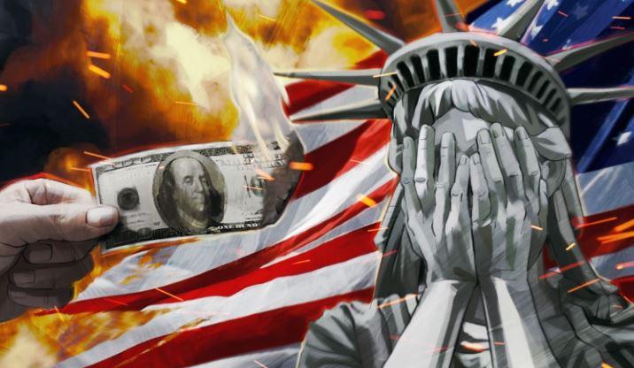 Недальновидная политика Вашингтона может обернуться для США кризисом и крахом доллара