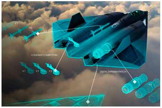 ВВС США «показали» истребитель шестого поколения