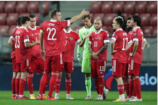 Сборная России по футболу назвала соперников по контрольным матчам перед Евро