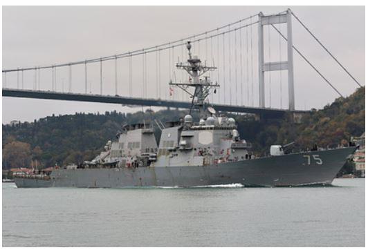 Причину приостановки прохода военных кораблей США в Черное море объяснили