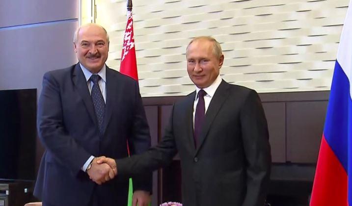 Стало известно время встречи Путина и Лукашенко