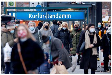 Новый локдаун в Германии обвалил экономику всей еврозоны