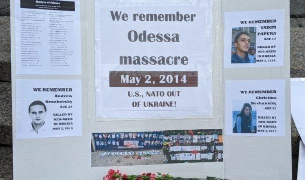 Американцы в годовщину одесской трагедии призвали Байдена и НАТО «убраться» с Украины
