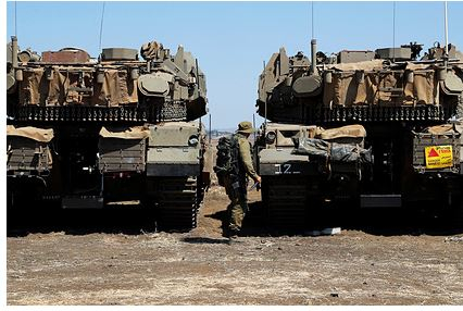 Армия Израиля сообщила о подготовке к наземной операции в секторе Газа