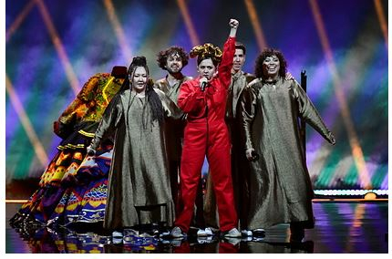 Россия заняла девятое место на «Евровидении»