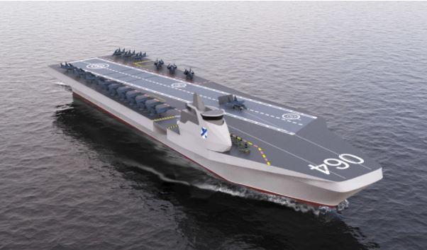 Sohu: уникальный российский авианосец «Варан» заставит США захлебнуться от зависти
